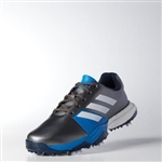 Adidas Adipower Boost 3 Men's Golf Shoes - Silver/White/Blue