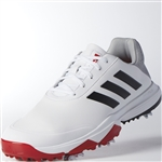 Adidas Adipower Bounce Men's Golf Shoes - White/Black