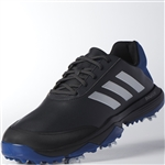Adidas Adipower Bounce Black/Silver/Blue Men's Golf Shoes