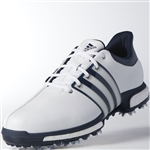 Adidas Tour360 Boost Men's Golf Shoes - White/Slate