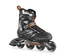 Rollerblade Men's Zetrablade Black & Orange Inline Skates
