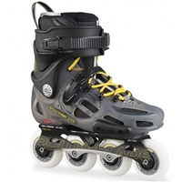 Rollerblade Twister Pro Anthracite/Yellow Inline Skates