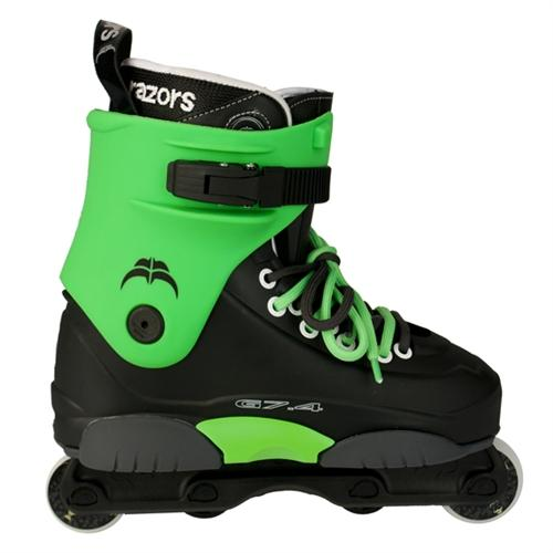 Razors Genesys 7.4 GREEN Edition Aggressive Skates