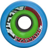 B'Zerk Derby Skate Wheels Madman - 62mm x 44mm x 91a