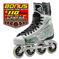 Tour Fish Bonelite Pro White Hockey Skates