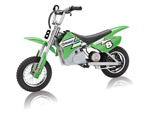 Electric Dirtbike from Razor in Blue