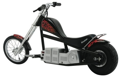 Scooters of All Types from Razor including Razor Chopper Electric Motorbike in blue