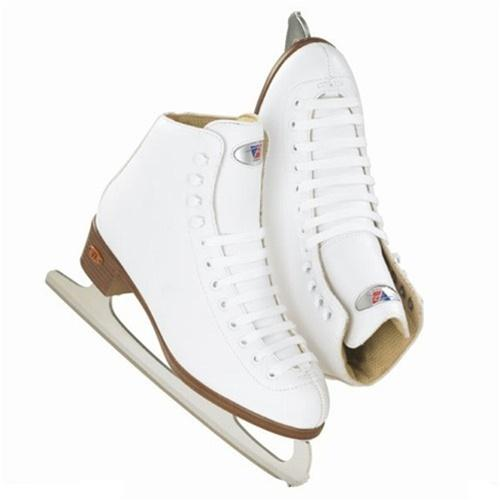 Riedell Ice skates 17 RS Junior White Set