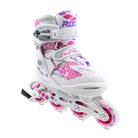 Roces Moody 4.0 Kids Inline Skates Girls - White Pink
