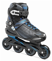 Roces Mens Inline Skates Stripes Black