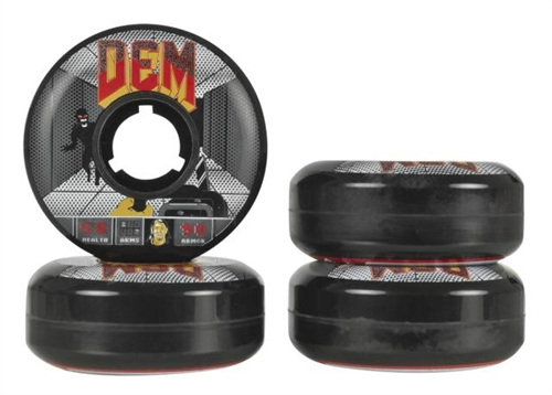 Undercover Skate Wheels Demetrios George 2012 - 4pack