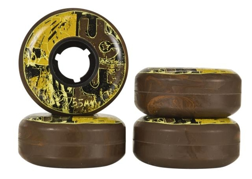 Undercover Skate Wheels Team 55mm 90a - 4pack