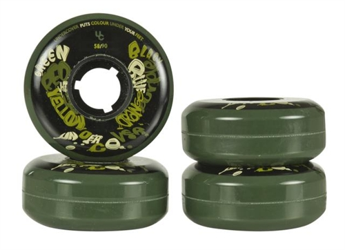 Undercover Skate Wheels Team 58mm 90a - 4pack