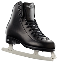 Riedell 19 Black Medium Ice Skates with Luna Blades