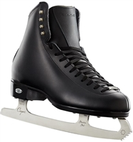 Riedell Ice Skates 33 Diamond Black Capri Blades