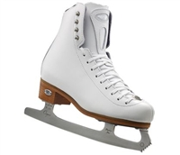 Riedell Ice Skates 23 Stride White Med or Wide - Capri Blade
