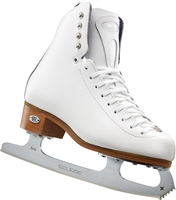 Riedell 29 Junior White Ice Skates Astra Blade