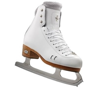 Riedell Ice Skates Boot 2010 Fusion White