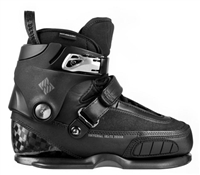 USD Aggressive Skate Boots Carbon IV Black