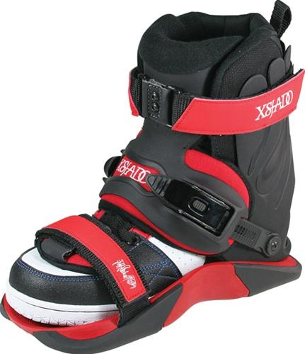 Xsjado Stockwell Red Aggressive Skates  Boot Only