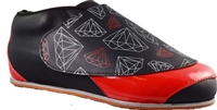 Vanilla Diamond Boots Black/Red
