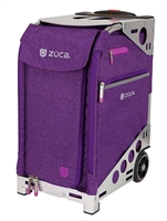 ZUCA Pro Travel Bag Heather Plum/Silver