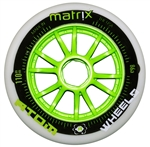 Atom Matrix Inline Speed ROAD Wheels - 90mm - 86a