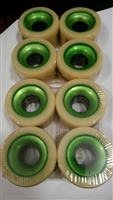 Atom Stroker 62mm Wheels SLIM 38mm 98A set of 8