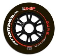 Atom Whip Burn Inline Speed Wheels - 110mm - Grip