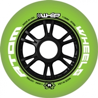 Atom Whip Inline Speed INDOOR Wheels - 110mm - X Firm