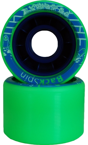 Backspin Scribble Skate Wheels - 62mm x 42mm x 91a - 8 set