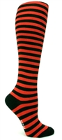 Women's Socks Sock it to me - Black & Red Stripe