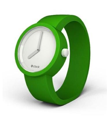 O'Clock Apple Green Watch