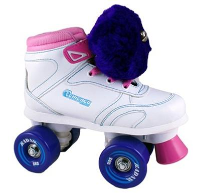 Chicago 100 girls roller skates blueberry jam
