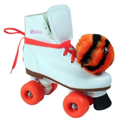 Chicago 1900 Tiger Prowl Girls Roller Skate - White