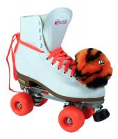 Chicago 400 Aerobic Tiger Prowl w/Adjustable Toe Stop Women - White