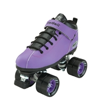 Riedell Dart Speed Skates - Purple