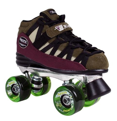 Roller skates for outdoor speed skating
