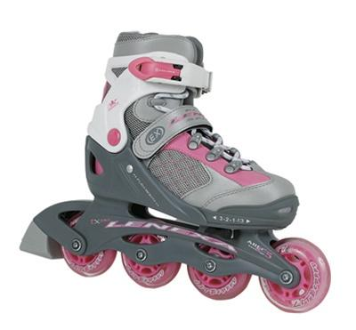 Lenexa Elite Girls Pink Adjustable Inline Skate girls
