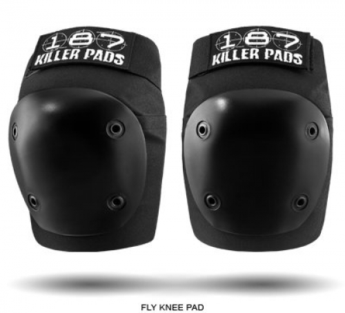 187 Killer Fly Knee Pads - Black