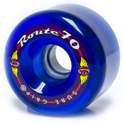 Kryptonics Route 70mm roller skate wheels great for outdoor surfaces