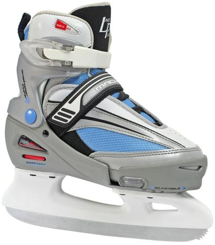 Lake Placid Mach 5 Adjustable Girl's Ice Skates