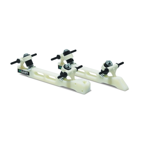 Laser ELITE Single Action Plates  NO TOE STOP pair