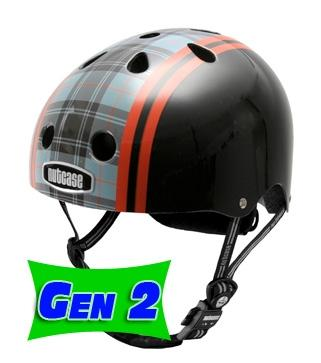 Nutcase Black Plaid Street Helmet - Gen 2