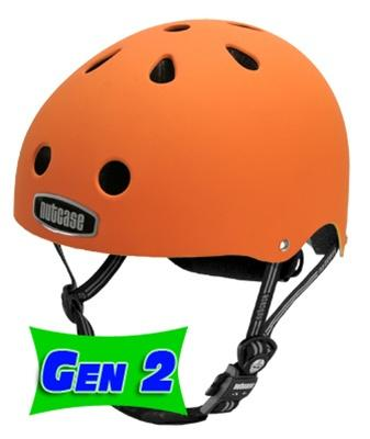 Nutcase Dutch Orange Skate Helmet