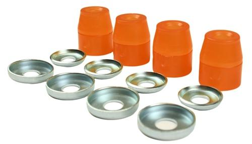 Powerdyne Magic Hop-Up Kit Roller Skate Cushions - Orange