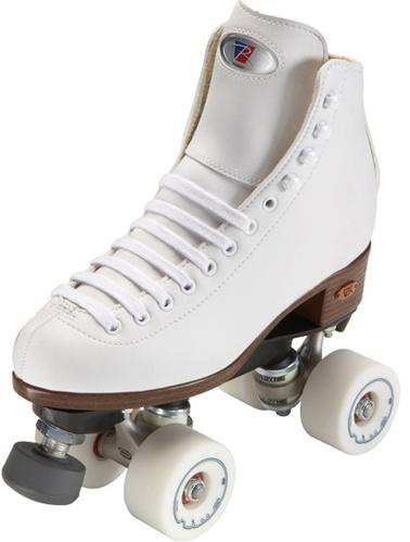 New Riedell Skate Package - 110 Angel Ladies Indoor Quad Roller Rink Skates