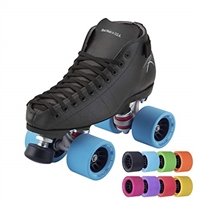 Riedell Cobalt Quad Roller Skates for Speed Skating