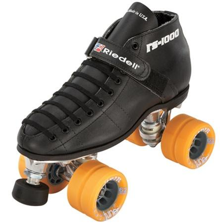 Riedell Hammer 125 S Quad Speed Roller skates for Speed Skating
