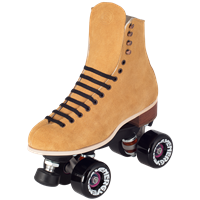 New Skate Package 130 Diva Outdoor quad roller skates from Riedell